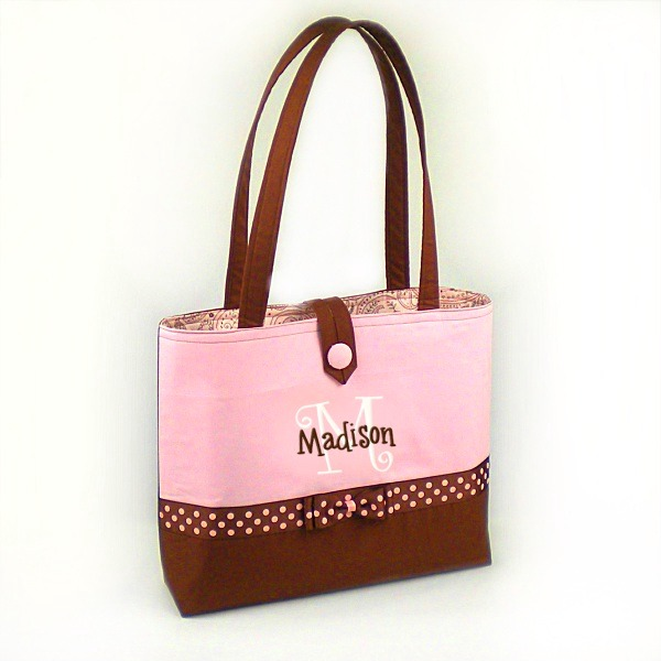 Baby Cakes Personalized Mommy on the Go Bag