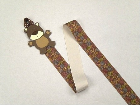 Bear Barrette Holder