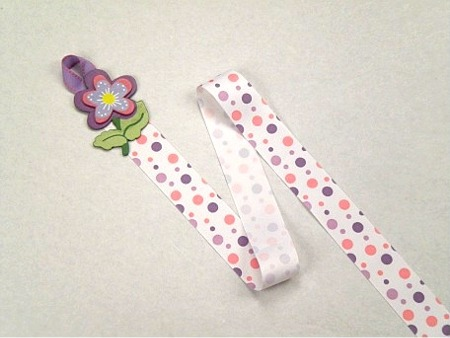 Flower Barrette Holder