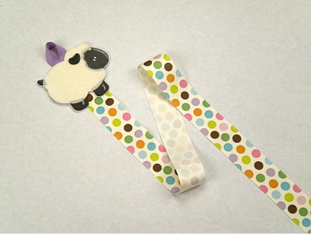 Sheep Barrette Holder