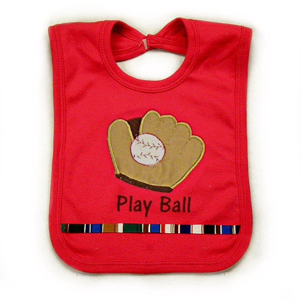 Baseball Glove Bib