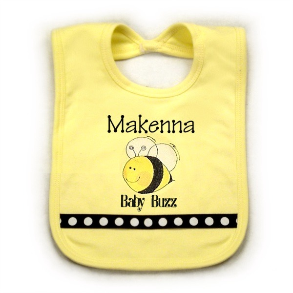 Bee Personalized Bib