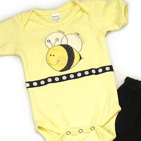 Bee Onesies & T-Shirts
