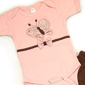 Butterfly Onesies & T-Shirts