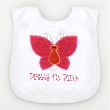Butterfly Tutu Cute Bib