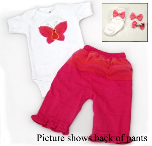 Butterfly Tutu Cute Pants