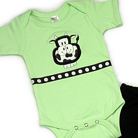 Cow Onesies & T-Shirts