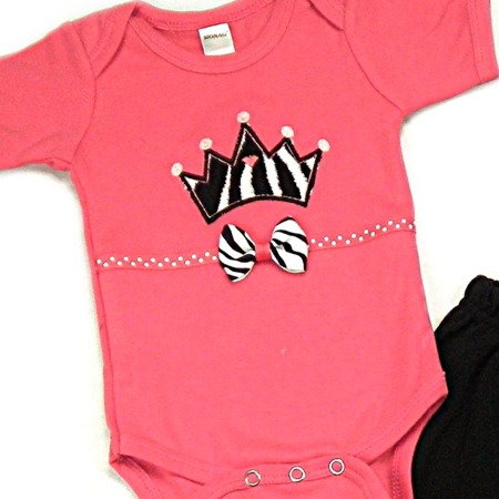 Crown Onesies & T-Shirts