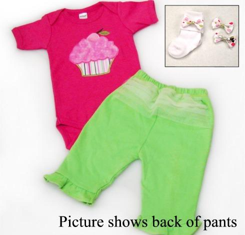 Cupcake Tutu Cute Onesies & T-Shirts