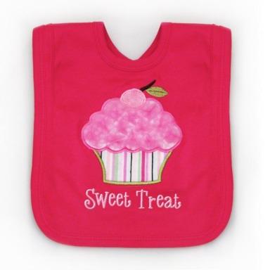Cupcake Tutu Cute Bib