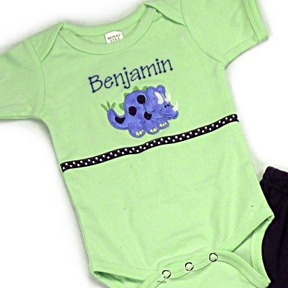 Dinosaur Personalized Onesies & T-Shirts