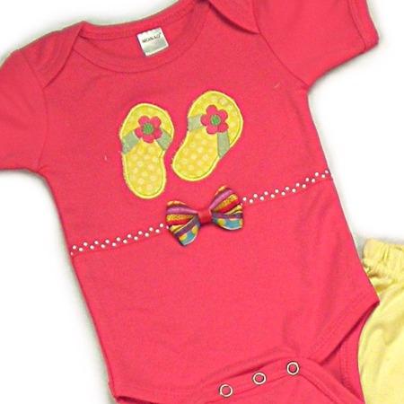 Flip Flops Onesies & T-Shirts
