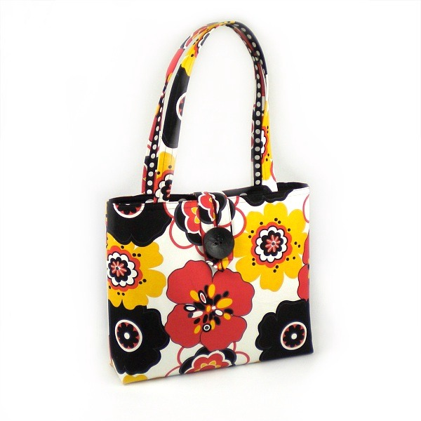 Flower Power Mommy on the Go Bag
