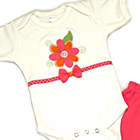 Flower Onesies & T-Shirts