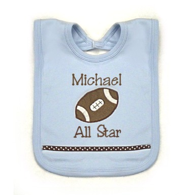 Football Personalized Bib