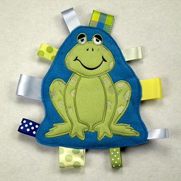 Frog Personalized Tag-Along Buddy