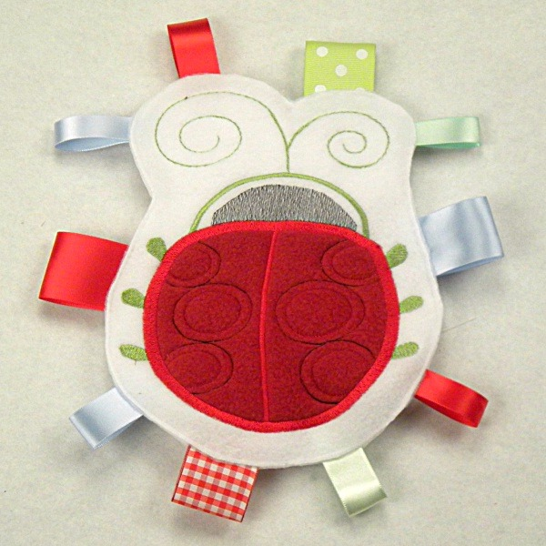 Ladybug Personalized Tag-Along Buddy