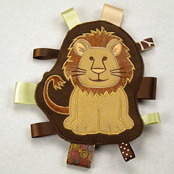 Lion Personalized Tag-Along Buddy
