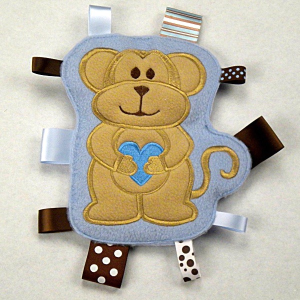 Monkey Personalized Tag-Along Buddy