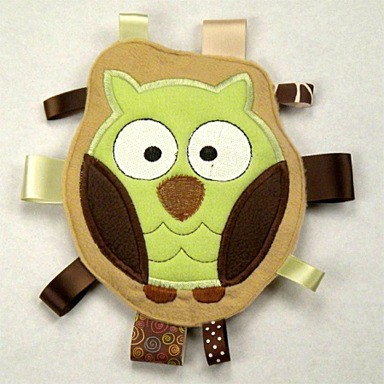 Owl Personalized Tag-Along Buddy