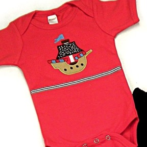 Pirate Ship Onesies & T-Shirts