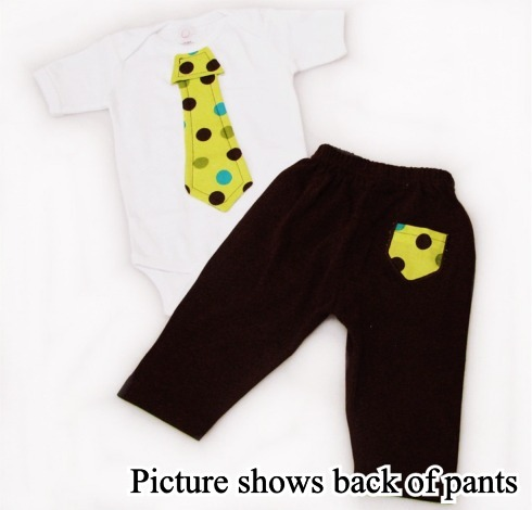 Polka Dot Tie Onesies & T-Shirts