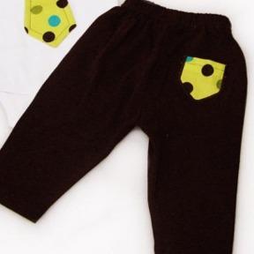 Polka Dot Tie Pants