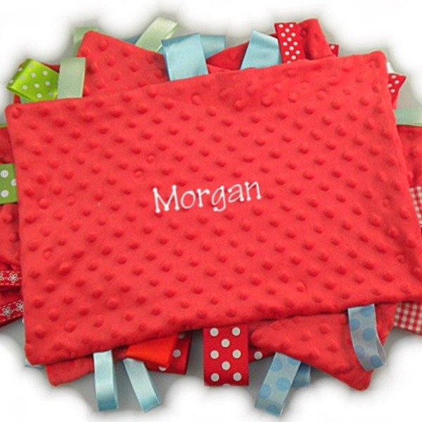 Personalized Tag-Along Blankets
