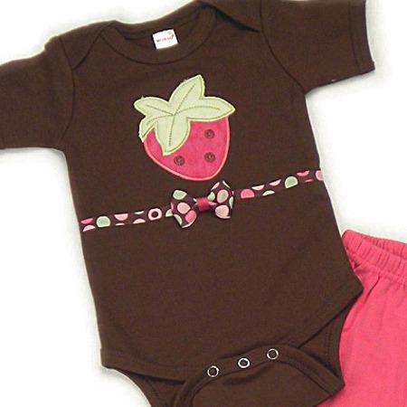 Strawberry Onesies & T-Shirts