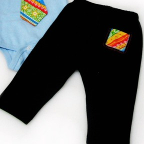 Stripe Tie Pants