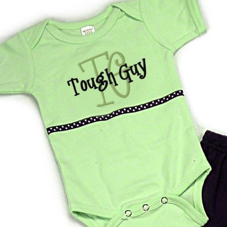 Tough Guy Onesies & T-Shirts