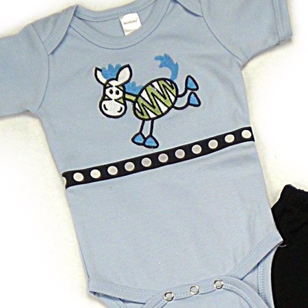Zebra Onesies & T-Shirts