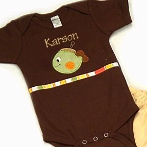 Fish Personalized Onesies & T-Shirts
