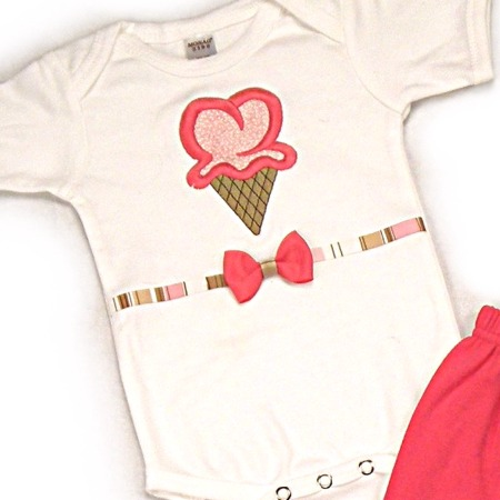 Ice Cream Onesies & T-Shirts