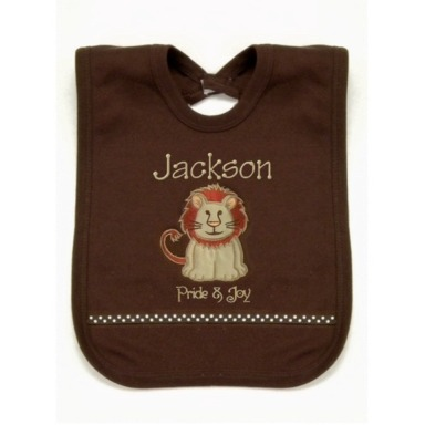 Lion Personalized Bib